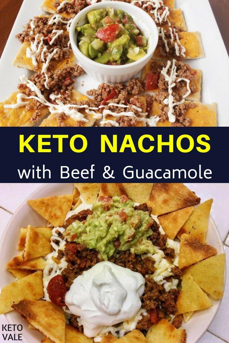 Classy Guacamole Recipe Low Carb Nachos Recipe Keto Ideas Pinterest Low Carb Nachos Keto Crockpot Recipes Ground Beef Easy Keto Ground Beef Casserole Ground Beef Keto Low Carb Nachos