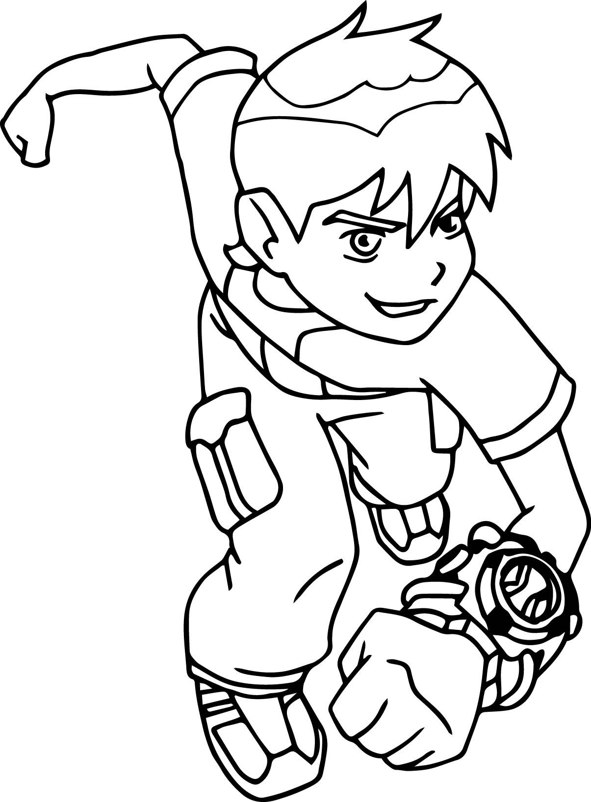 Cool Ben 10 Coloring Pages To Print Mcoloring
