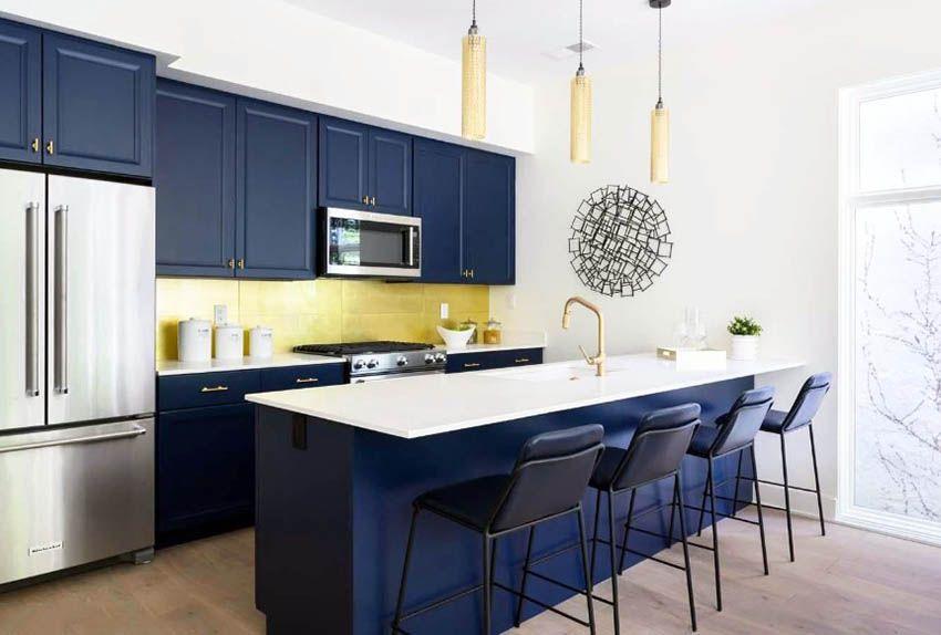 33 Blue And White Kitchens Design Ideas White Kitchen Design