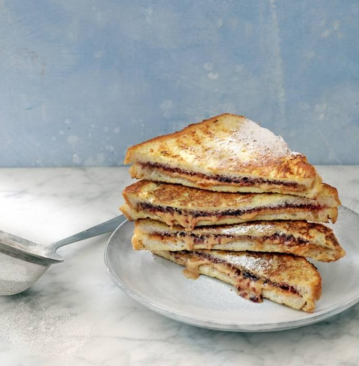 PB&J-Stuffed French Toast | Savory