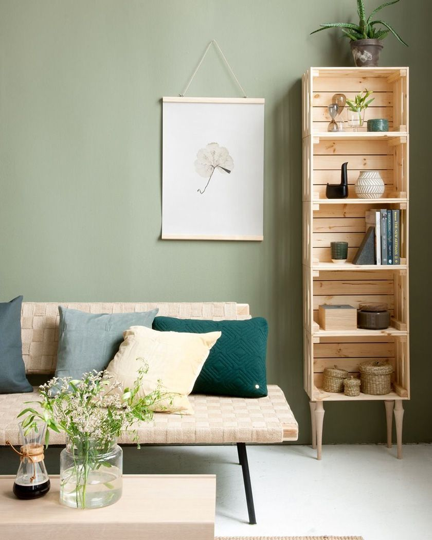Comment Fabriquer Une Caisse En Bois pin auf more is now – genussvolles mama-sein | bookshelves