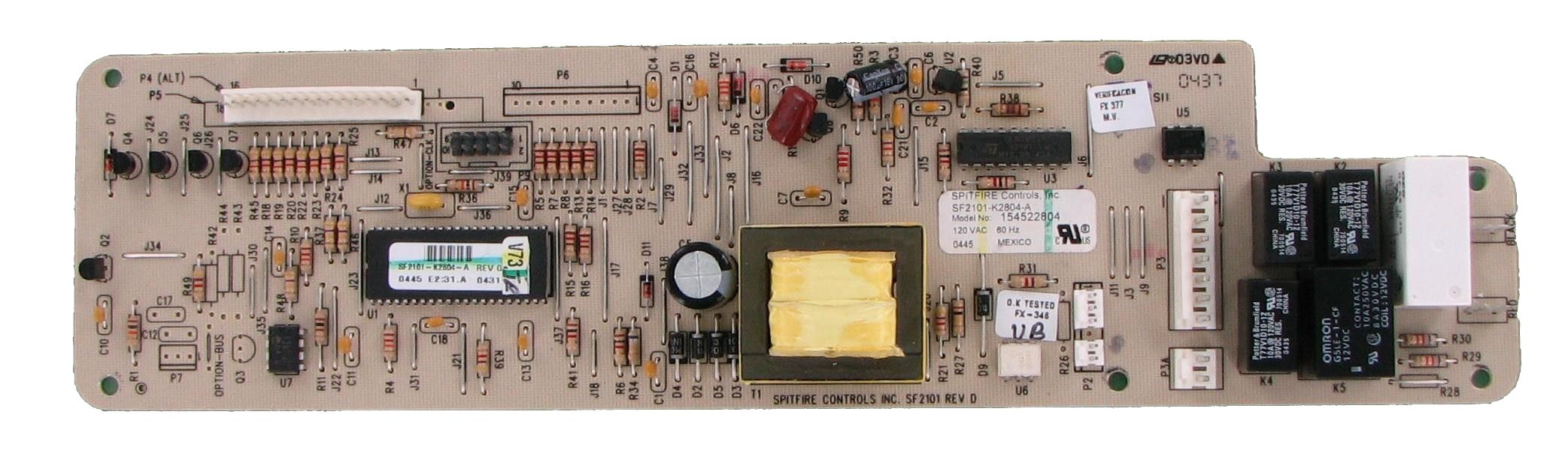 Frigidaire 154540104 Dishwasher Electronic Control Board Frigidaire Dishwasher Broken Appliance Frigidaire