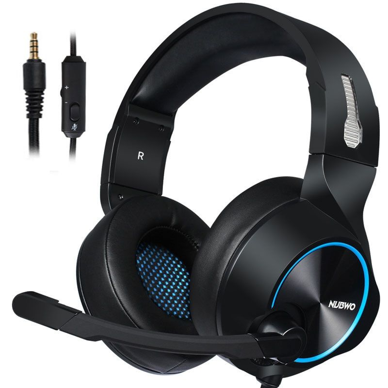 Usd 19 59 Gaming Headset Earphones Headphone With Microphone For Ps4 Computer Mobile Phone Xbox One 3 5mm Original In 2021 Gaming Headset Headset Over Ear Headphone