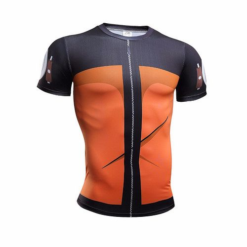 e31f85ae Compressed Naruto 3D Digital Printing Shirt Naruto Tops Type: Tees Style:  Fashion Collar: O-Neck Material: Spandex,Polyester Fabric Type: Jersey  Pattern ...