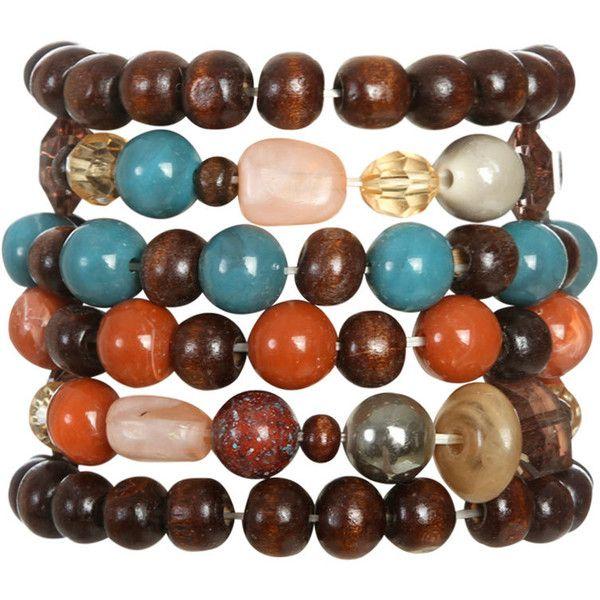 Wood Stretch Bracelet Set