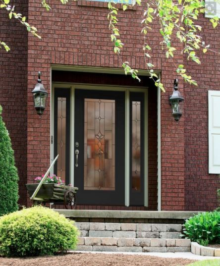Love This Decorative Glass Front Entry Door Please Call Next For
