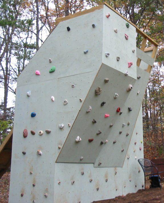 Backyard Climbing Wall | Climbing wall, Bouldering wall ...