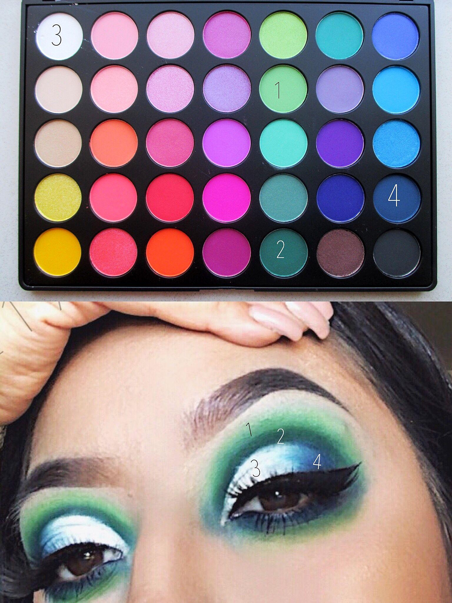 Morphe 35b Palette Look By Gigi2191 In 2019 Eyeshadow Makeup Morphe Eyeshadow Eye Makeup Art