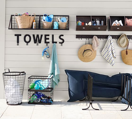 Alphabet Hook Pool Decor Pool Storage Pool Towel Storage