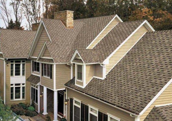 weathered wood shingles certainteed  roof  Pinterest