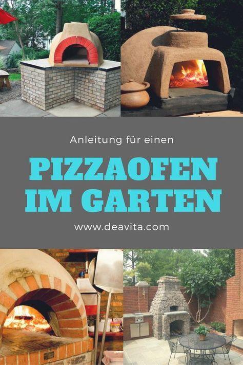 Wer richtig leckere, knusprige Pizzas wie in einem italienischen - outdoor küche selber bauen