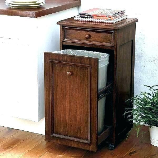 Pin By Jessie Thornhill On Home Decorations Wood Trash Can Trash Bins Trash Can