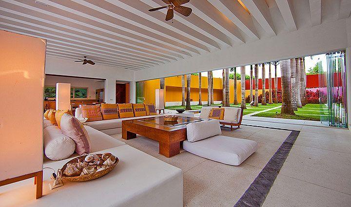 Casa Roja Punta Mita Mexico Beautifulplaces Luxury Villa Rentals Epicurean Adventures Super Luxe Neon