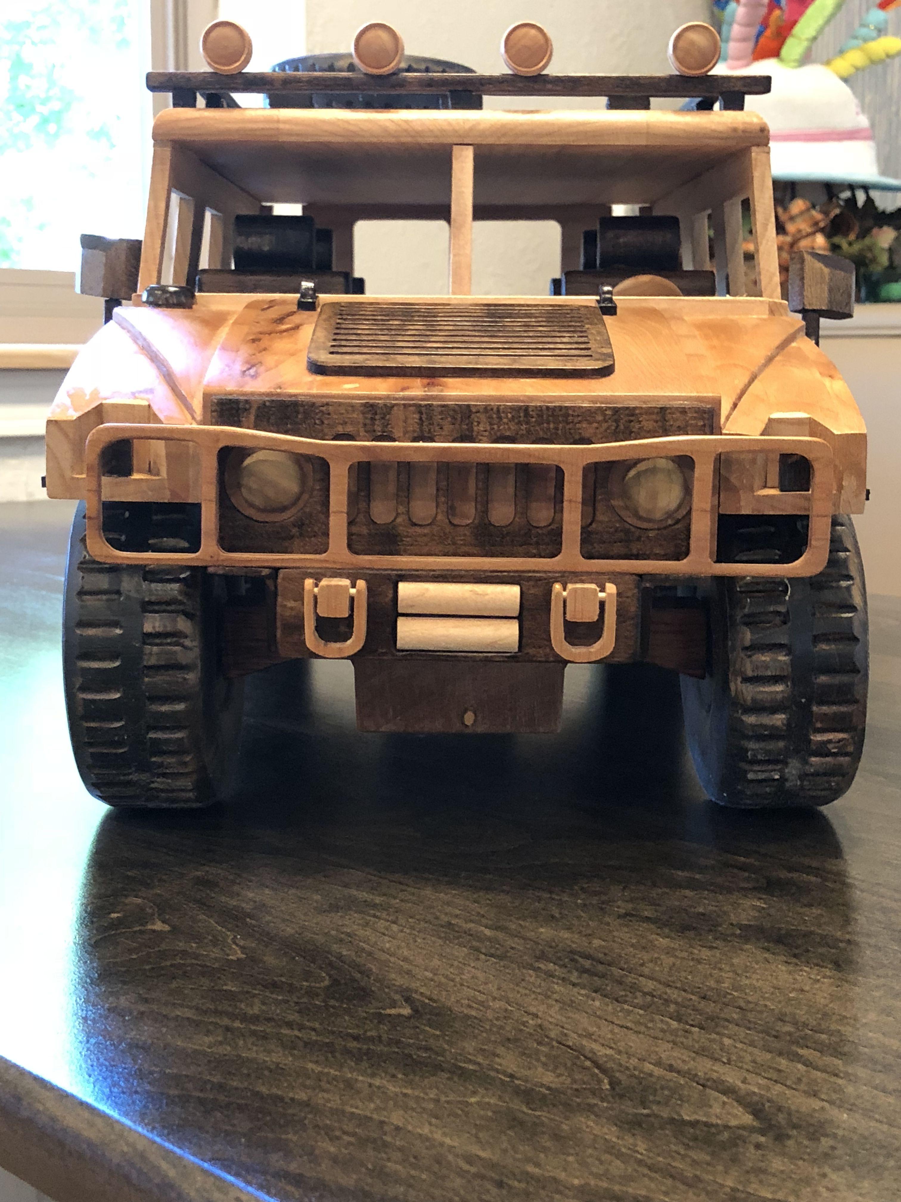 Hummer car toys  ToysandJoys hummer  Wooden models  Pinterest  Model and Hummer