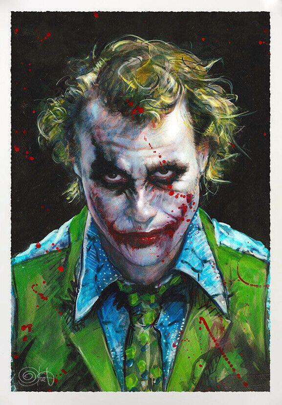 Olivia de Berardinis Joker Why So Serious Poster FRIDGE Magnet 2.5 x 3.5
