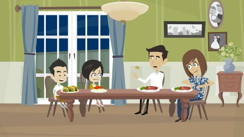 Image Result For Long Dining Table Cartoon Long Dining Table