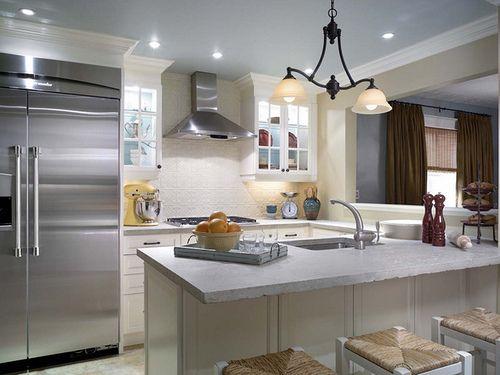 Candice Olsen Tin Tile Backsplash Kitchen Kitchen Design Trendy Kitchen Kitchen Inspirations