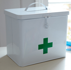 Spotted! Really Useful Lockable First Aid & Medicine Storage