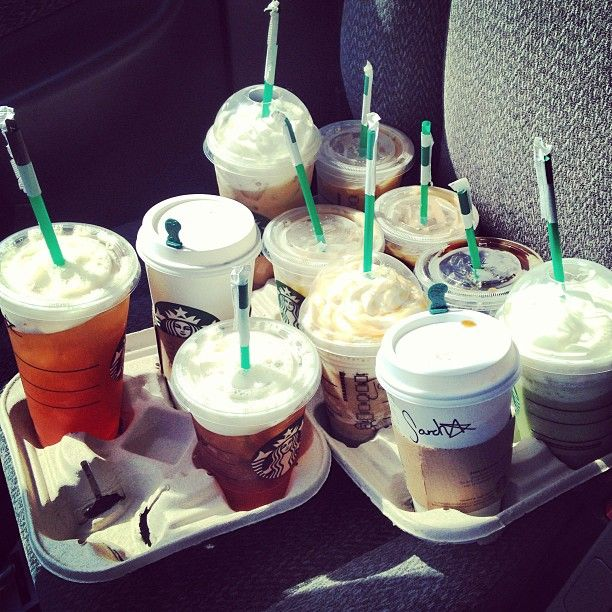 Coffee run for the Production Dept. #internshit #internproblems
