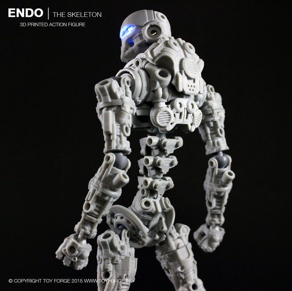 picture about 3d Printable Figures named Endo The Skeleton 3D Posted Move Determine (Electronic Data files