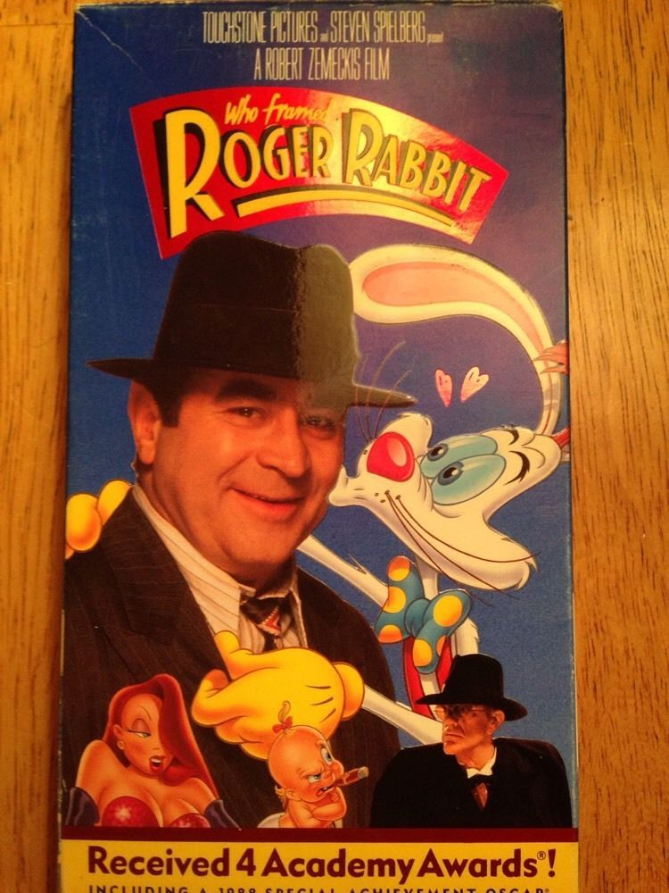WHO FRAMED ROGER RABBIT BOB HOSKINS,CHRISTOPHER LLOYD VHS Animated ...