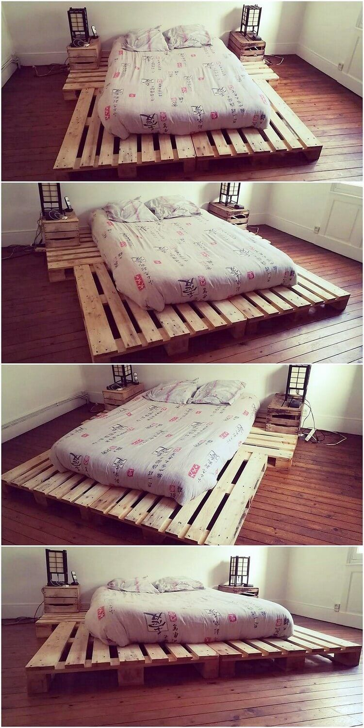 Brilliant Ideas with Recycled Wood Pallets Diy pallet