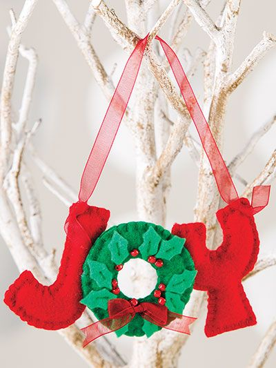 50 Of The Best Easy To Sew Ornaments For Christmas Christmas