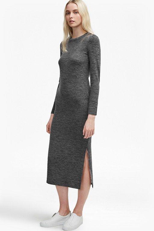 sweeter sweater bodycon midi dress