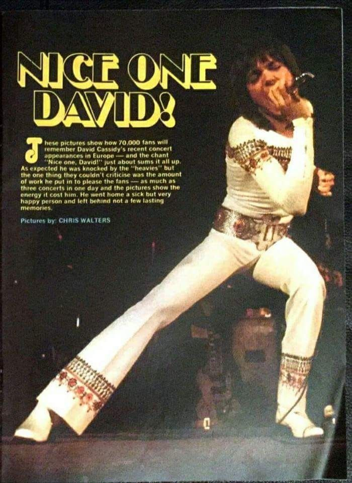 Pin by Kim Southern on Love you, David Cassidy in 2019