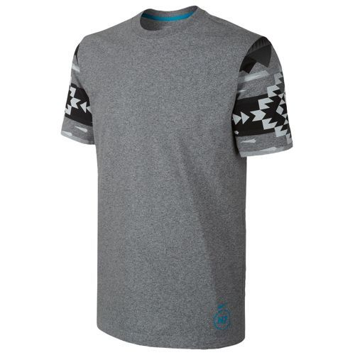 Nike N7 Pendleton T-Shirt - Men's - Casual - Clothing - Dark Grey Heather