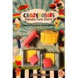 Collectible Puzzle Erasers - 4 Pieces Furniture TV room ...