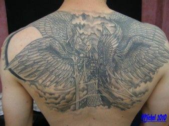 Resultat De Recherche D Images Pour Tatouage Homme Ange Et Demon