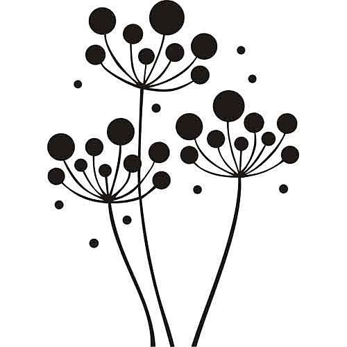 Samolepka jarabina_PX202 | Kvety Nálepky | DECOTREND