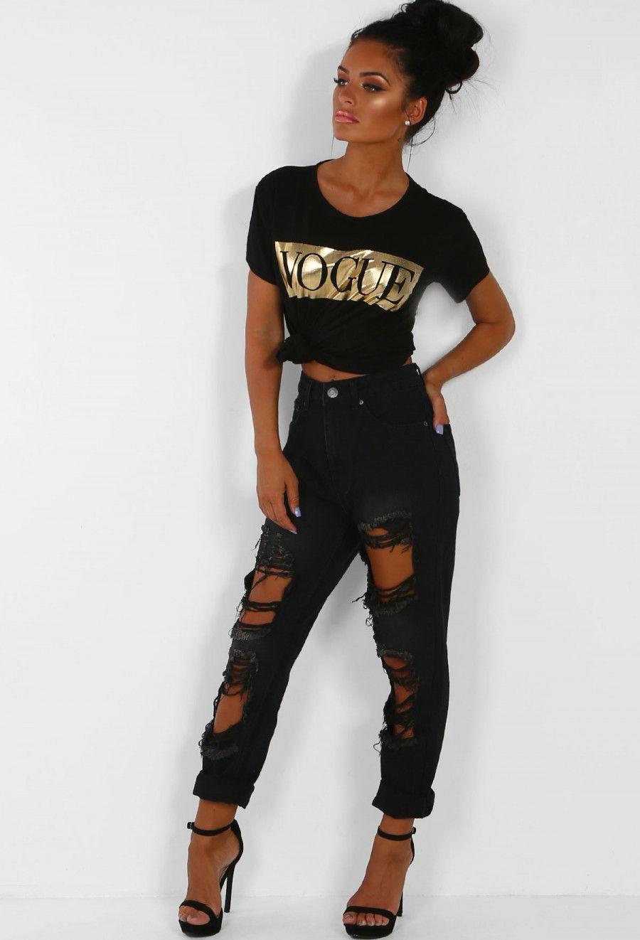 27+ Black ripped mom jeans ideas ideas in 2021