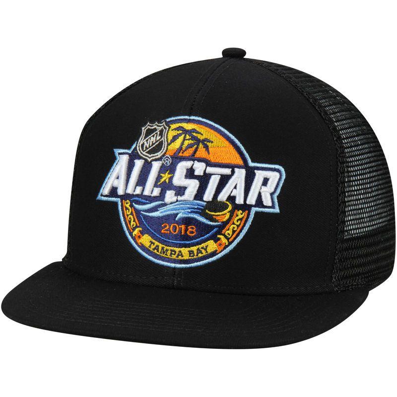 super popular 5a58b 4c8dd adidas 2018 NHL All-Star Game Adjustable Hat – Black