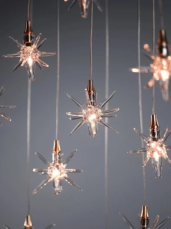 Star In 2020 Star Pendant Lighting Decor Star Chandelier