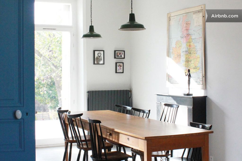 Atelier Du Petit Parc Home On Airbnb Fr Salle A Manger Moderne Salle A Manger Contemporaine Sallon Salle A Manger