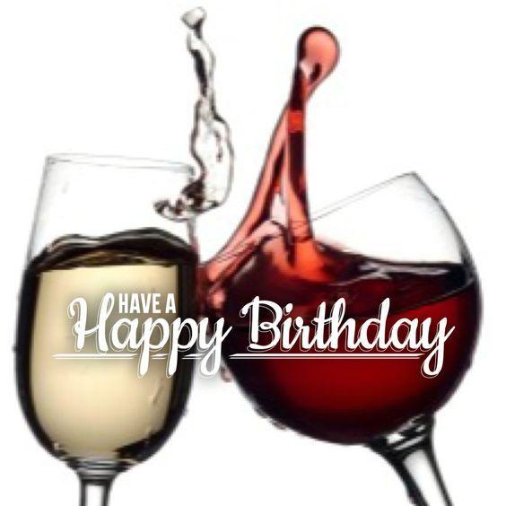 Happy Birthday - Wine Toast