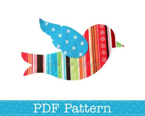 9fb720a92 Bird Applique Pattern