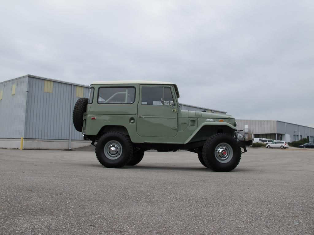toyota-land-cruiser-fj40-1970-4×4-rare-clean-frame-off-restoration-green-japan-2-k | Land Cruiser Of The Day!
