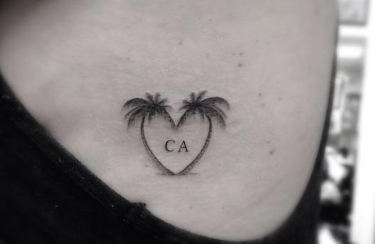 DR WOO SSC Beach tattoo, Tattoos, Small beach tattoos
