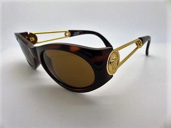9694976c115b Gianni Versace Safety Pin Sunglasses Mod 429 Col 900 Genuine Rare Vintage  Rare  fashion  clothing  shoes  accessories  womensaccessories ...