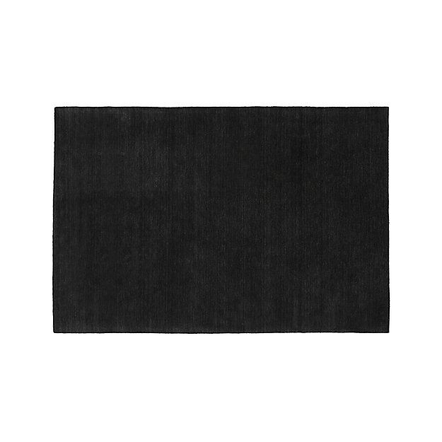 Baxter Navy Blue Wool Rug Crate And Barrel Wool Rug