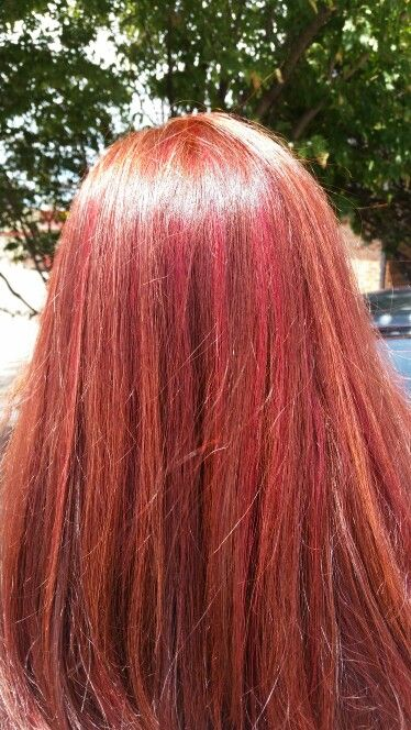My red