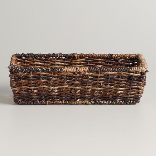 Madras Storage Baskets: World Market Madras Storage Basket