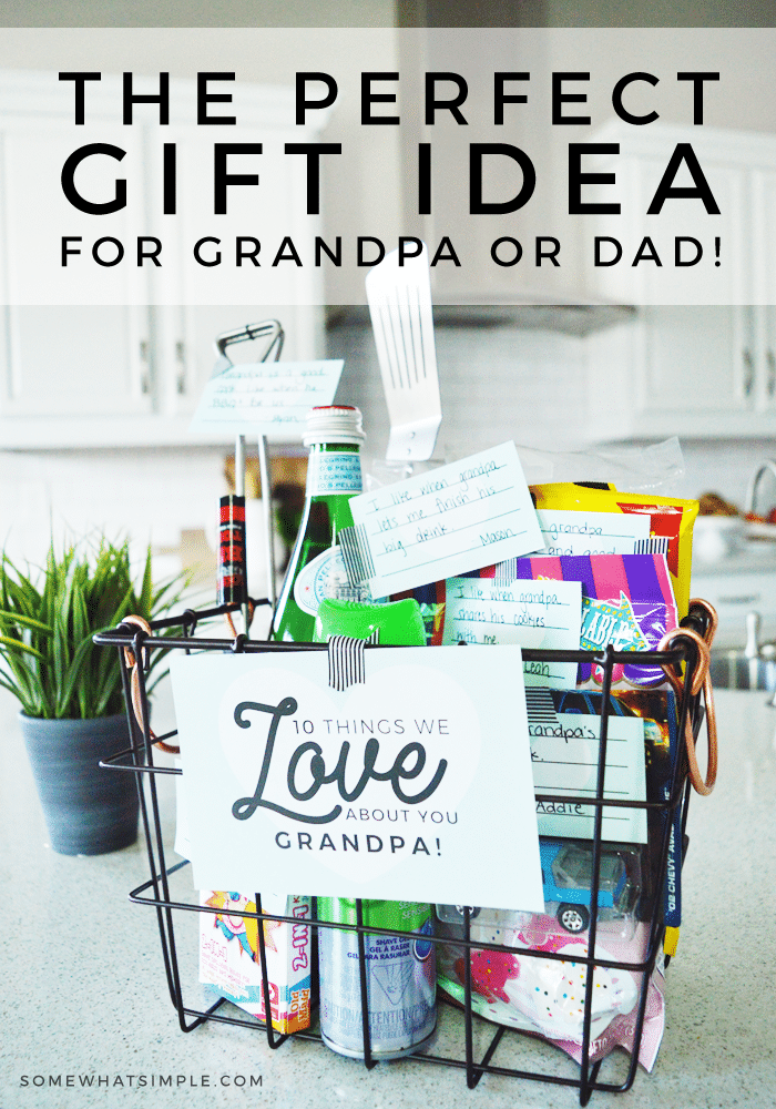 Gift for Dad or Grandpa - This Idea Is Both Meaningful and Fun
