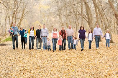 Payson Photography: Extended Family Pictures: Walker Family | CheapShots! Photography #extendedfamilyphotography