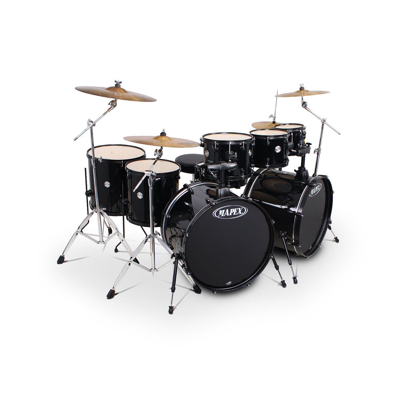 Mapex Voyager 8287 Monster Drumstel Black Black Hardware Dit Is