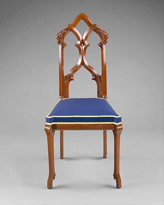 Ordinaire Side Chair Designed By Alexander Jackson Davis, American, New York  1803 1892, Gothic Revival.