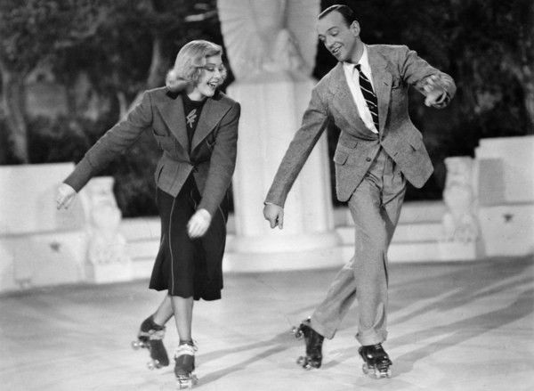 1937 Fred Astaire And Ginger Rogers Dance On Roller Skates Took About 150 Takes According To One Of The Vhs Fred And Ginger Shall We Dance Doris Day Movies